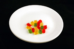 51 грамм мармеладных мишек=200 калорий