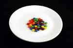 40 грамм конфет m&m=200 калорий