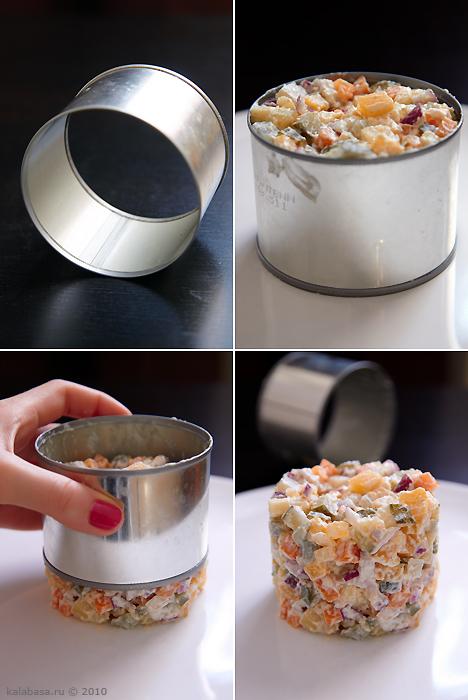 Кольца кулинарные своими руками
