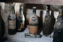 Antique Bottles of Vintage Champagne