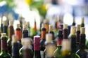 Bottles of Uncorked Wine