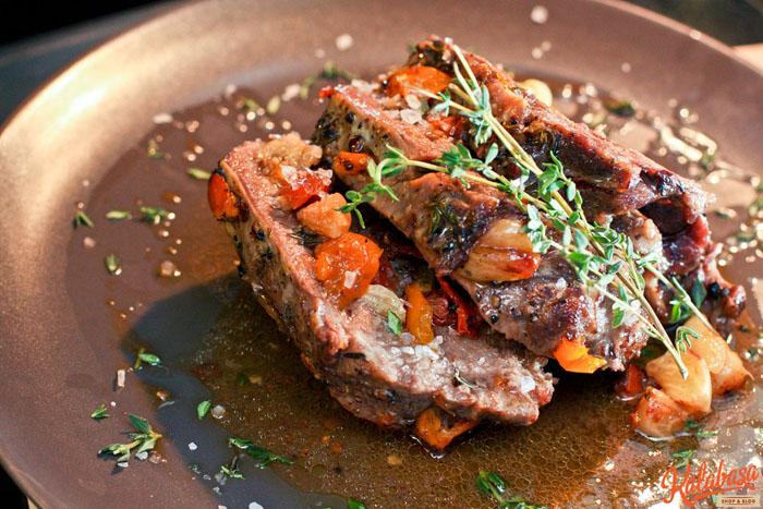 Запечь мясо на кости в фольге в духовке рецепт