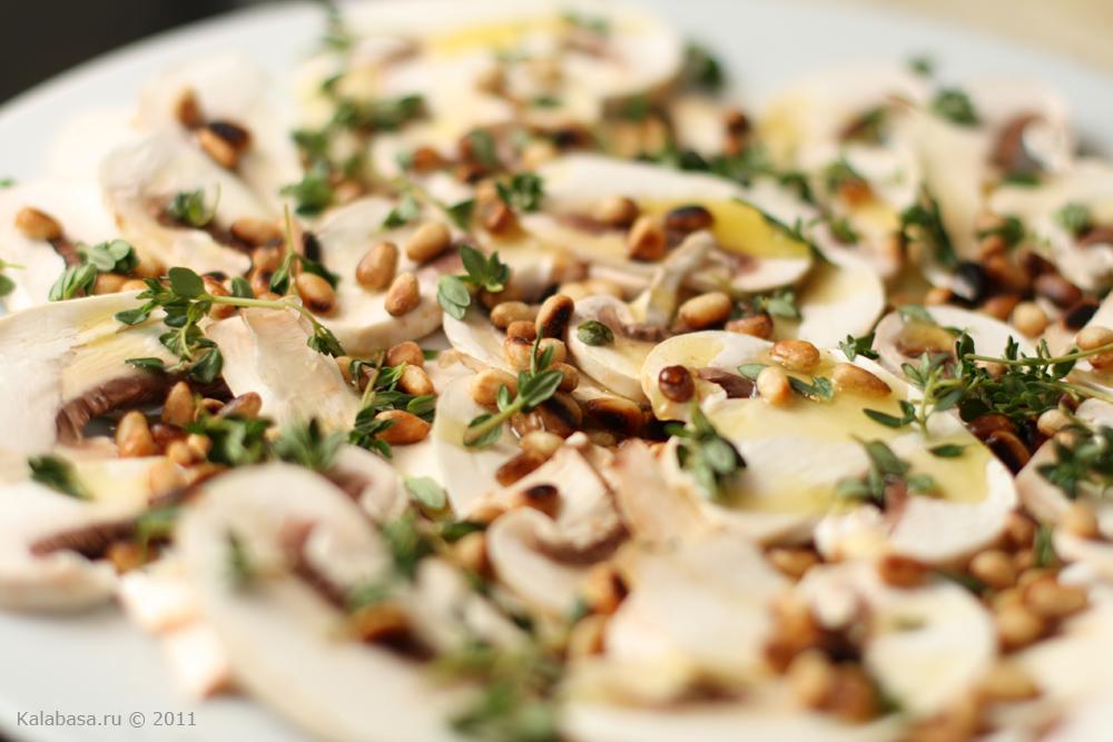 Салат из шампиньоны рецепт с
