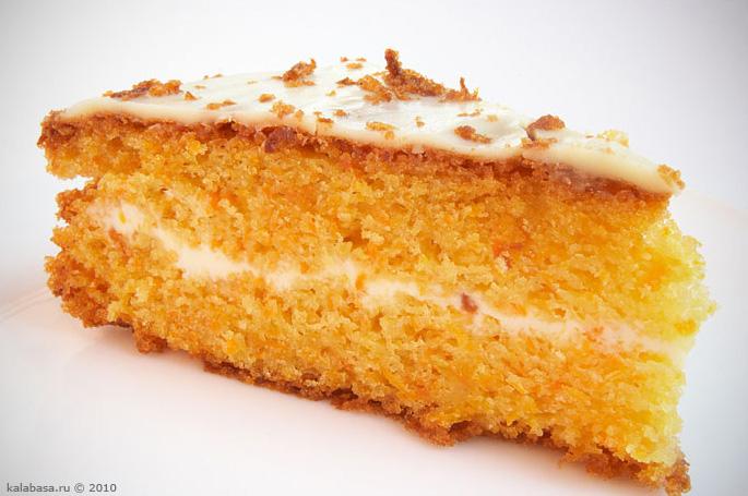 sweet cakes sweet vse podryad  Морковый торт Сметана Морковь