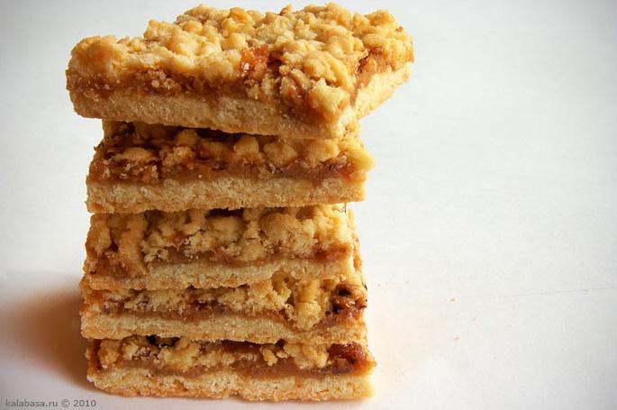 Печенье на маргарине с вареньем рецепт