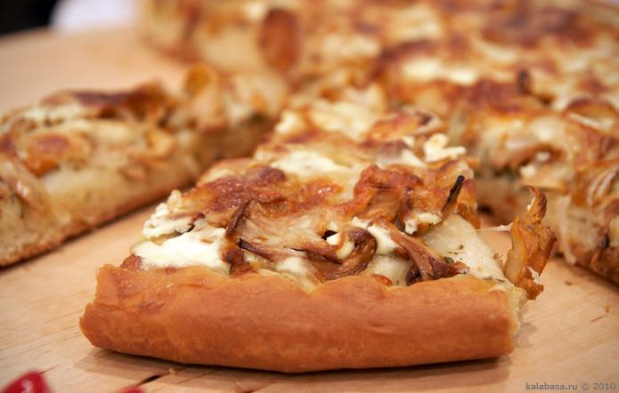 pirogi pizza baking and bread vse podryad  Пицца Тесто Грибы