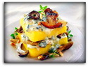 polenta with mushrooms and gorgonzolo_новый размер