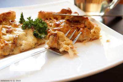 10l Пирог с грибами и сметаной