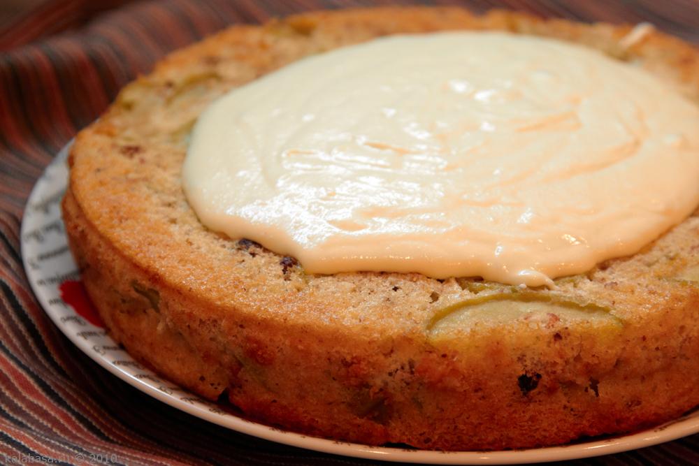 пирог с заварной крем рецепт с фото