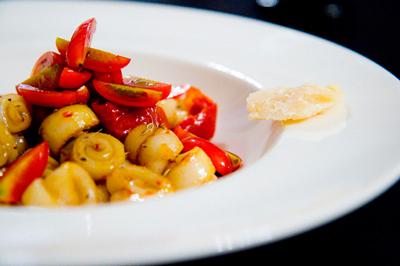 holiday recipes snack hot snack vse podryad  Кальмары Помидоры Морепродукты