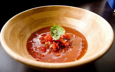 soups feash soups special food diet food vse podryad  Гаспачо с рыбой Рыба Помидоры