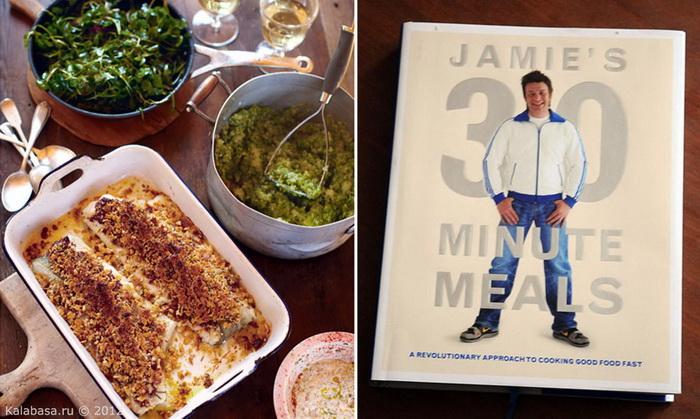 video  Джейми Оливер. Обед за 30 минут. Рыба и картофельное пюре