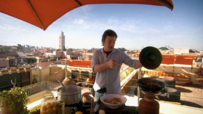 video  Кулинарные путешествия Джейми Оливера. Марракеш