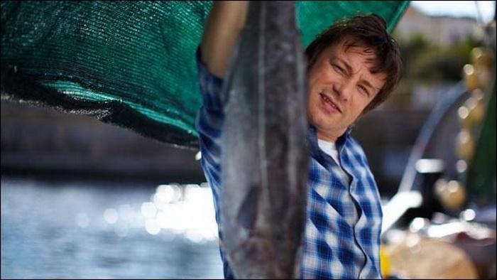 video  Джейми Оливер. Рыбный ужин. Сайда