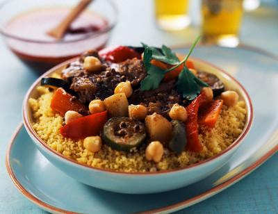video  Марокканский обед