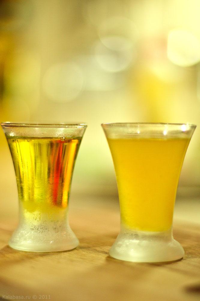 рецепт ликера на лимонах