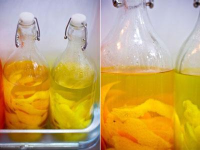 make drinks drinks  Домашние ликеры. День второй Лимоны Водка Апельсины