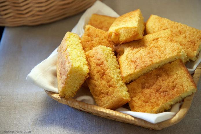 bread baking and bread vse podryad  Кукурузный хлеб Кукурузная крупа