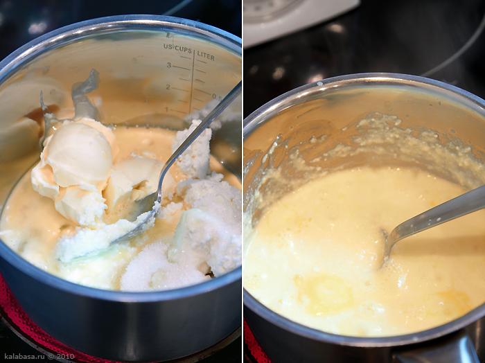 sweet holiday recipes desserts vse podryad  Хвастаюсь и 2 пасхи Яйца Творог Орехи