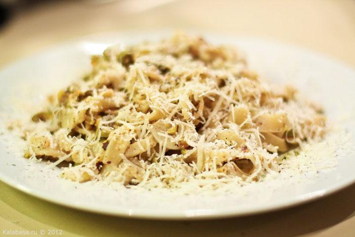 paste and groats main course  Паста с зелеными маслинами и фисташками Паста Орехи Оливки