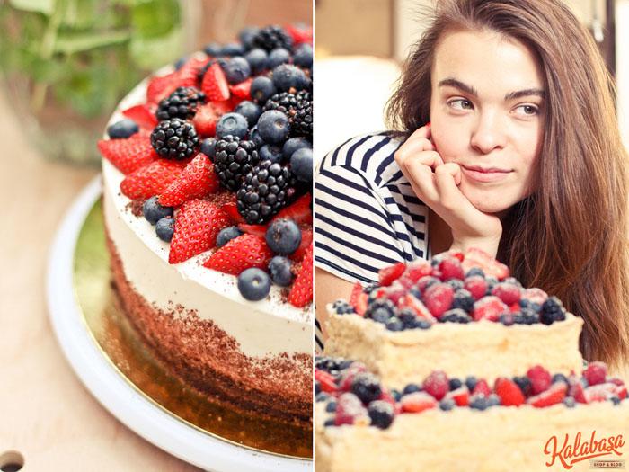 video  Реальная еда. Готовим торт с Kalabasa!