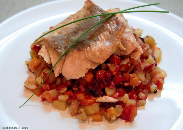 main course 20 minute meals  Рыба с овощами, запеченная  в фольге Рыба