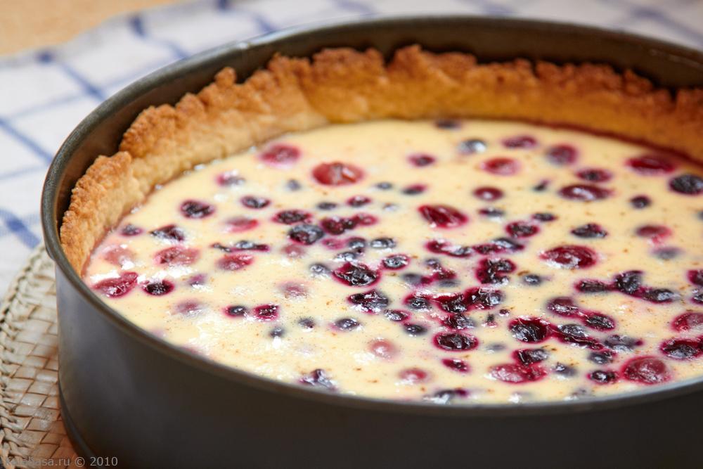 Закрытый пирог я ягодами рецепт 55