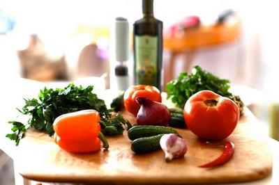 soups vegetable soups vse podryad  Холодные супы. Часть I. Помидоры Перец Огурцы